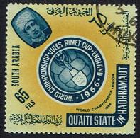 Jemen-Aden-Aden, Qu'aiti State In Hadhramaut ,1966,  MiNr 78,gestempelt - Jemen