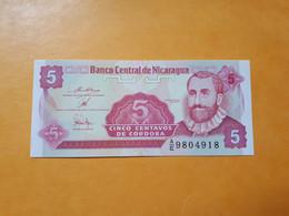 NICARAGUA 5 CENTAVOS 1991-1992 - Nicaragua