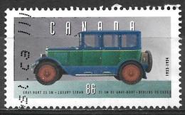 Canada 1993. Scott #1490f (U) Historic Automobile, 1923-24 Gray-Dort 25-SM Luxury Sedan - Usados