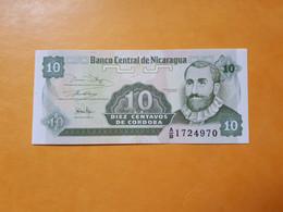 NICARAGUA 10 CENTAVOS 1991 BILLET NEUF - Nicaragua