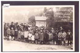 SUR LE DOUBS - COURSE AU SAUT DU DOUBS EN 1930 - TB - NE Neuchâtel
