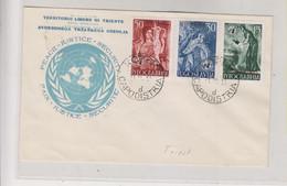 YUGOSLAVIA 1953 TRIESTE B FDC Cover - Briefe U. Dokumente