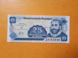 NICARAGUA 25 CENTAVOS 1991 BILLET NEUF - Nicaragua