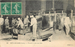 RIVE DE GIER - Verrerie à Vitre De Lion. - Rive De Gier
