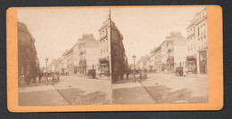 PHOTO STEREO LILLE RUE IMPERIALE AUJOURD'HUI RUE NATIONALE  C2354 - Stereoscopic