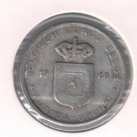 CONGO - BOUDEWIJN * 1 Frank 1960 * Nr 10442 - 1951-1960: Baudouin I