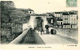 CAHORS  =  Entrée Du Pont Neuf  2330 - Cahors