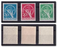 BERLIN 1949 Réforme Monétaire Série Complète YT 54 à 56 / Mi 68 à 70, ** MNH Cote YT 450€ - Voir Scan - Ungebraucht
