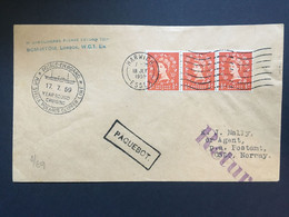 GB 1959 Paquebot Cover Harwich To Norway - M/s Stella Polaris Clipper - Covers & Documents