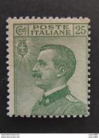 "ITALIA Regno-1927- ""Effigie"" C. 25 MNH**(descrizione) - Ungebraucht"