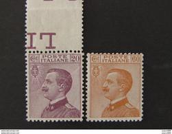 "ITALIA Regno-1926- ""Effigie"" Cpl. 2 Val. MNH** (descrizione) - Ungebraucht"