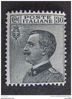 "ITALIA Regno -1925- ""Effigie"" C. 30 MNH** (descrizione) - Ungebraucht"
