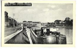 PENICHE - CREIL - Le Port, Vue Sur L'Oise - Houseboats