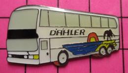 SP05 Pin's Pins / Beau Et Rare / THEME : TRANSPORTS / Tirage Numéroté 475 AUTOBUS ROUTIER DAHLER - Marche