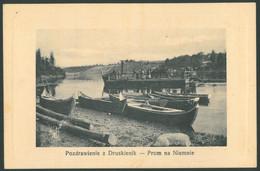 DRUSKININKAI Vintage Postcard Lithuania - Litouwen