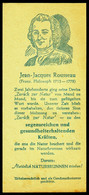 """Aachen ~1922 Kleine Rechnung """" (früherer) Hermes-Brunnen Mit Spruch J.J. Rousseau """" Reklame Werbung A6 - Objets Publicitaires"""