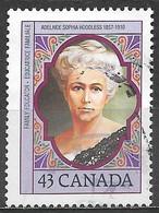Canada 1993. Scott #1456 (U) Adelaide Sophia Hoodless (1857-1910), Founder Of Victorian Order Of Nurses - Usados