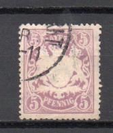 - ALLEMAGNE / BAVIERE N° 61 Oblitéré - 5 P. Lilas - Cote 10,00 € - - Bavaria