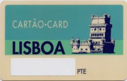 PORTUGAL LISBOA CARD - Other