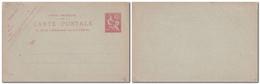 CHINE -Entier Postal Type Mouchon 10 Centimes Rose Sur Vert - Carte Postale Neuve - Briefe U. Dokumente