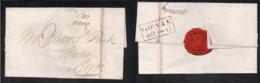 Postal History - Brief Vom 04.07.1822 Von Girvan Nach Ayr - Meilenstempel Girvan 461 - Unclassified