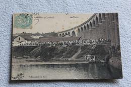 Cpa 1906, Aurillac, Le Viaduc, Cantal 15 - Aurillac