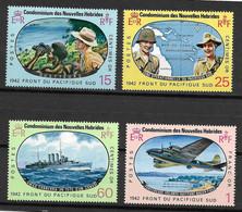 NOUVELLES-HEBRIDES Série 257/260  Neuf** - SUP - - Unused Stamps