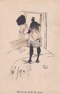 CPA - FANSTAISIE GRIVOISE -  ILLUSTRATEUR (G.MOUTON) - Encore Un Terme De Payé -     (pat 152 ) - Other Illustrators