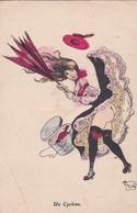 CPA - FANSTAISIE GRIVOISE -  ILLUSTRATEUR (G.MOUTON) - Un Cyclone -     (pat 152 ) - Other Illustrators