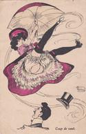 CPA - FANSTAISIE GRIVOISE -  ILLUSTRATEUR (G.MOUTON) - Coup De Vent  -     (pat 152 ) - Other Illustrators