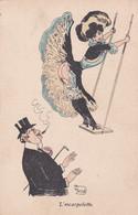 CPA - FANSTAISIE GRIVOISE -  ILLUSTRATEUR (G.MOUTON) - L'Escarpolette   -     (pat 152 ) - Other Illustrators