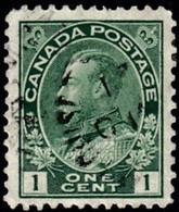 CANADA - Scott #104e King George V (*) / Used Stamp - Usados