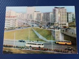 KOREA NORTH 1950s  Postcard - Pyongyang New Buildings - Corea Del Norte