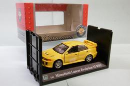 Cararama / Hongwell - MITSUBISHI LANCER EVOLUTION VI WRC Jaune BO 1/43 - Cararama (Oliex)