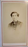 Châteauroux -  Photo CDV Époque Napoléon III - Vers 1865 - Portrait Jeune Homme - Photo Verdot TBE - Old (before 1900)