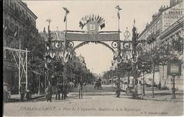 Chalon Sur Saône : Fêtes Du 8 Septembre, Boulevard De La République - Chalon Sur Saone