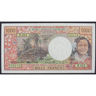 Polynésie Française, 1000 Francs ND, VF - French Pacific Territories (1992-...)