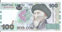 KIRGHIZISTAN 100 SOM 2002 UNC P 21 - Kyrgyzstan