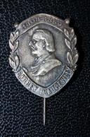 """Rare Broche De Col De Veste Fin XIXe """"Jules Barbey D'Aurevilly - Né En 1808 à Saint-Sauveur-le-Vicomte"""" Normandie - Brooches"""
