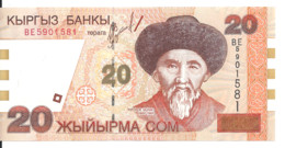 KIRGHIZISTAN 20 SOM 2002 UNC P 19 - Kyrgyzstan