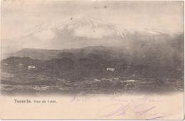 Tenerife - Pico De Teide - Stamp Deutsches Reich 1905 - Tenerife