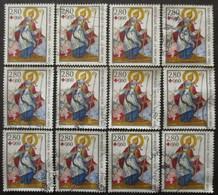 FRANCE N°2853a X 12 Oblitéré - Collections (without Album)
