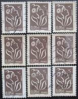 FRANCE N°3754b X 11 Oblitéré - Collections (without Album)