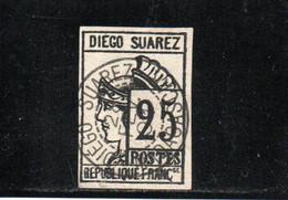 DIEGO-SUAREZ 1890 O REIMPRESION-FORGERY - Used Stamps