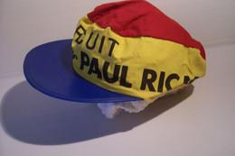 "PUBLICITE  - CASQUETTE  "" CIRCUIT  PAUL  RICARD "" - Casquettes & Bobs"