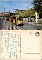 Hannover Tram Straßenbahn Haltestelle Am Kröpcke Mit Litfaßsäule 1970 - Hannover