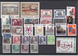 Denmark 1988 - Full Year MNH ** - Volledig Jaar