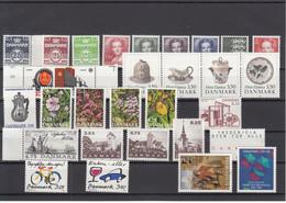 Denmark 1990 - Full Year MNH ** - Volledig Jaar