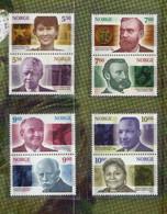Norway 2001 Nobel Prize For Peace, Mi 1401-1408  MNH(**) - Neufs