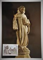 Carte Maximum BERNARD DE CLAIRVAUX  4802 Fontaine Les Dijon - Unclassified